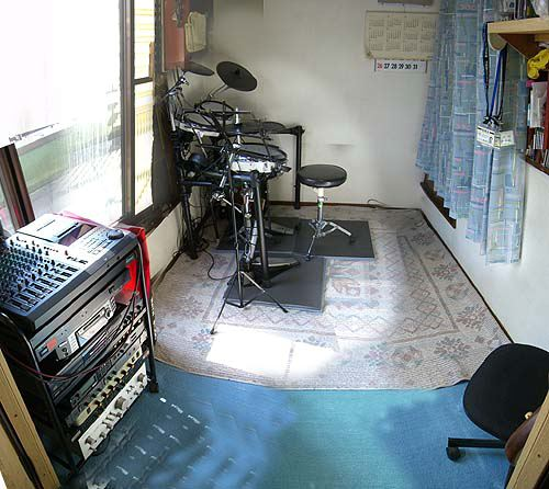 ドラムスタジオ完成