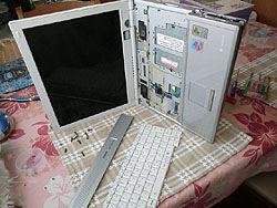 ノートパソコンCD壊れた